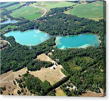 S-046 Stratton Lake 2 Waupaca County Wisconsin Canvas Print