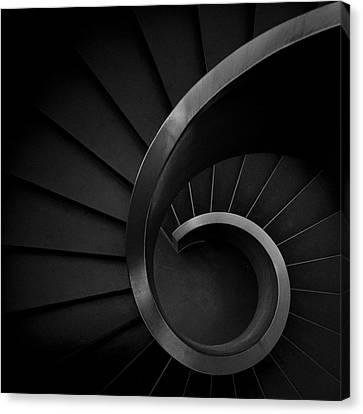 Stair Canvas Print - S I X by Fernando Correia Da Silva