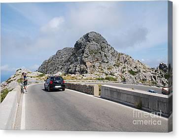 Sa Calobra Road In Majorca Canvas Print