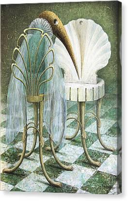 Saba Canvas Print by Lolita Bronzini