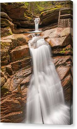 Sabbaday Falls Canvas Print
