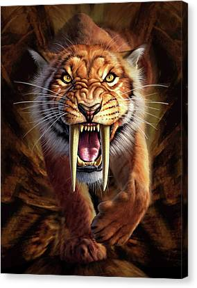 Sabertooth Canvas Print