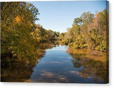 Sabine River Near Big Sandy Texas Photograph Fine Art Print 4087 Canvas Print by M K  Miller