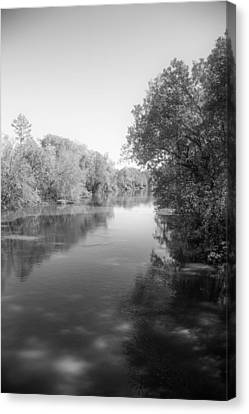 Sabine River Near Big Sandy Texas Photograph Fine Art Print 4094 Canvas Print by M K  Miller