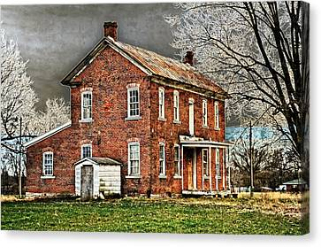 Sabre Homestead Canvas Print
