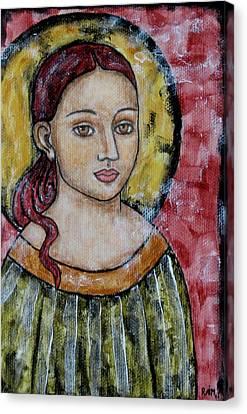 Sabrina Canvas Print by Rain Ririn