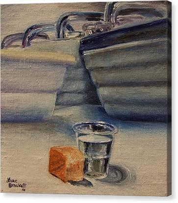 Sacrament Canvas Print by Lori Brackett