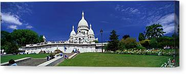 Sacre Coeur Cathedral Paris France Canvas Print by Panoramic Images