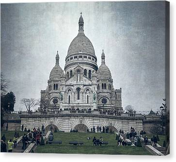 Sacre Coeur Paris II Canvas Print by Joan Carroll