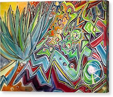 Sacred Agave Canvas Print