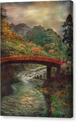 Canvas Print featuring the photograph Sacred Bridge by Hanny Heim