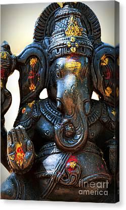 Ganapati Canvas Print - Sacred Ganesha by Tim Gainey