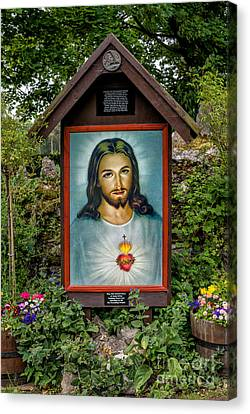 Sacred Heart Canvas Print by Adrian Evans
