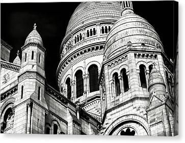 Sacred Heart Details Canvas Print