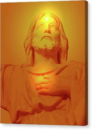 Sacred Heart No. 01 Canvas Print by Ramon Labusch
