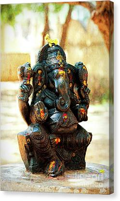 Ganapati Canvas Print - Sacred Indian Ganesha by Tim Gainey