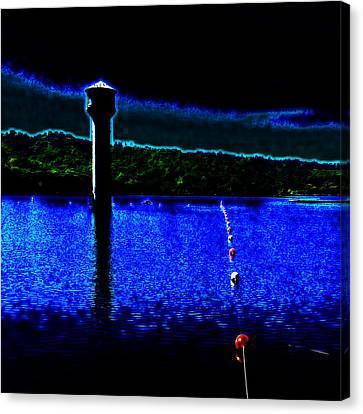 Sacred Lighthouse Canvas Print by Cadence Spalding