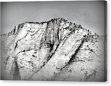 Sacred Mountain Canvas Print by Nature Macabre Photography