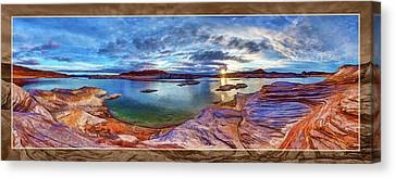 Sacred Rising Canvas Print by ABeautifulSky Photography