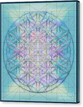 Sacred Symbols Out Of The Void 4b Canvas Print by Christopher Pringer