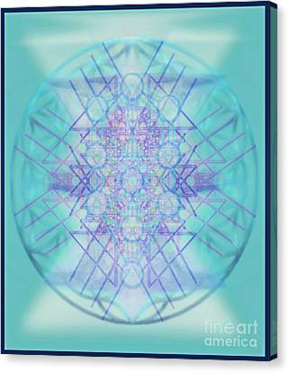 Sacred Symbols Out Of The Void A2b Canvas Print by Christopher Pringer