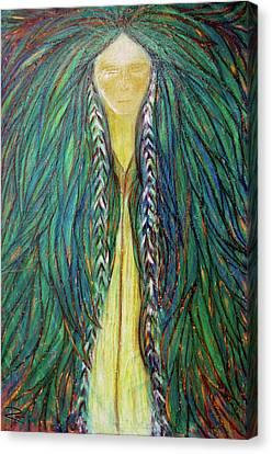 Sacred Teacher Canvas Print by NARI - Mother Earth Spirit