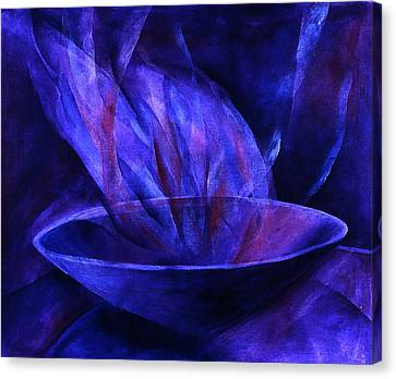 Sacred Vessel II Canvas Print by Sue Reed