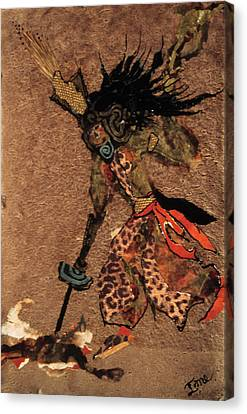 Sacrifice Canvas Print by Ione Citrin