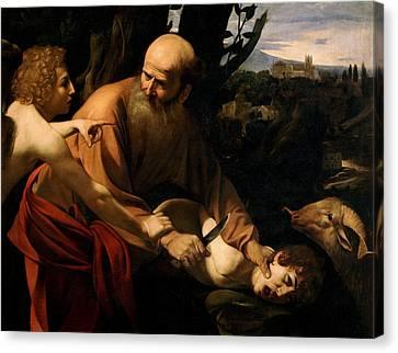Sacrifice Of Ishmael  Canvas Print