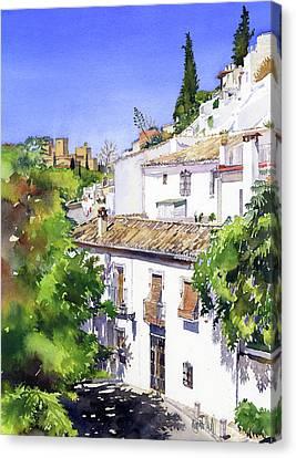 Sacromonte Granada Canvas Print