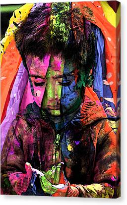 Missing Child Canvas Print - Sad by Bliss Of Art