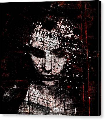 Sad News Canvas Print by Marian Voicu