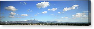 Saddleback Mountians Orange County California Canvas Print by Michael Ledray