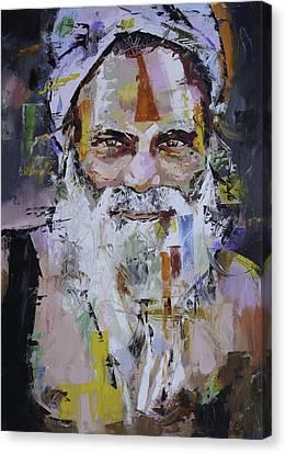 Sadhu Canvas Print by Richard Day
