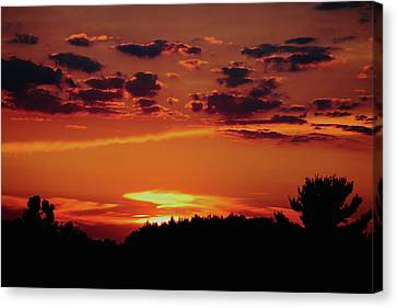 Sadie's Sunset Canvas Print by Bruce Patrick Smith