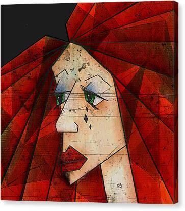 Sadness Canvas Print by Brenda Bryant