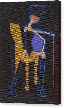 Sado Sutan Canvas Print