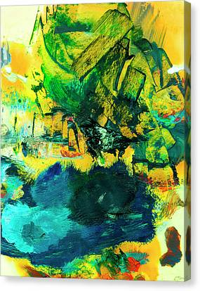 Safe Harbor #305 Canvas Print by Donald k Hall