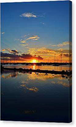 Safe Harbor Canvas Print by Bo Chambers