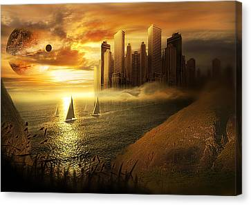 Safe Journey Canvas Print by Svetlana Sewell