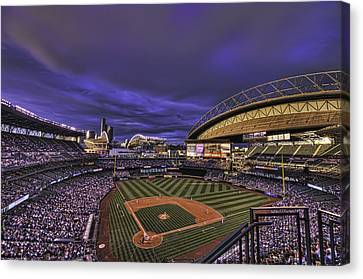 Safeco Field Canvas Print by Dan McManus