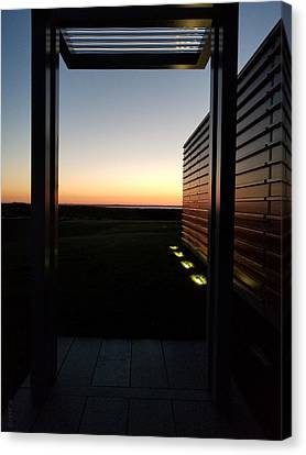 Canvas Print featuring the photograph Sag Harbor Sunset 2 by Rob Hans