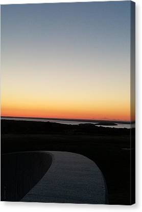 Canvas Print featuring the photograph Sag Harbor Sunset 3 by Rob Hans
