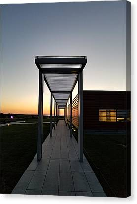 Canvas Print featuring the photograph Sag Harbor Sunset by Rob Hans