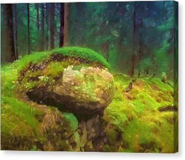 Saga Woods Canvas Print by Lutz Baar