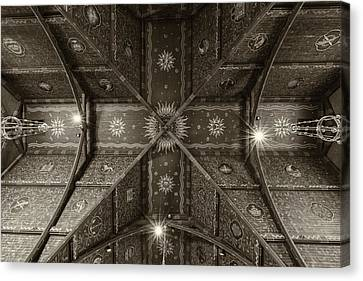 Sage Chapel Ceiling #2 - Cornell University Canvas Print by Stephen Stookey