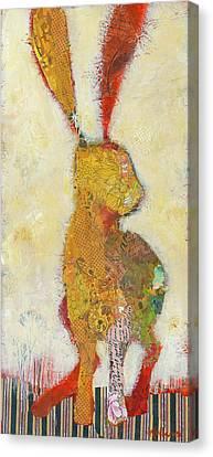 Sage Hopper Canvas Print