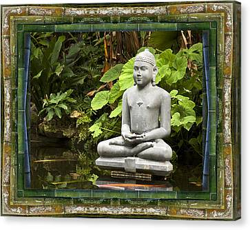 Sage Of Peace Canvas Print by Bell And Todd