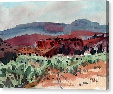 Sage Sand And Sierra Canvas Print