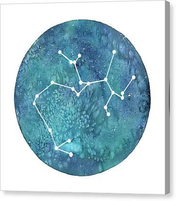 Sagittarius  Canvas Print by Stephie Jones